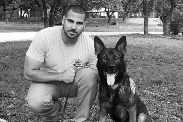 Worldwide Canine trainer Joel Nieves