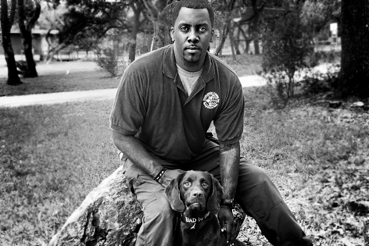 K9 Dog Trainer Corey Perkins of Worldwide Canine Inc.