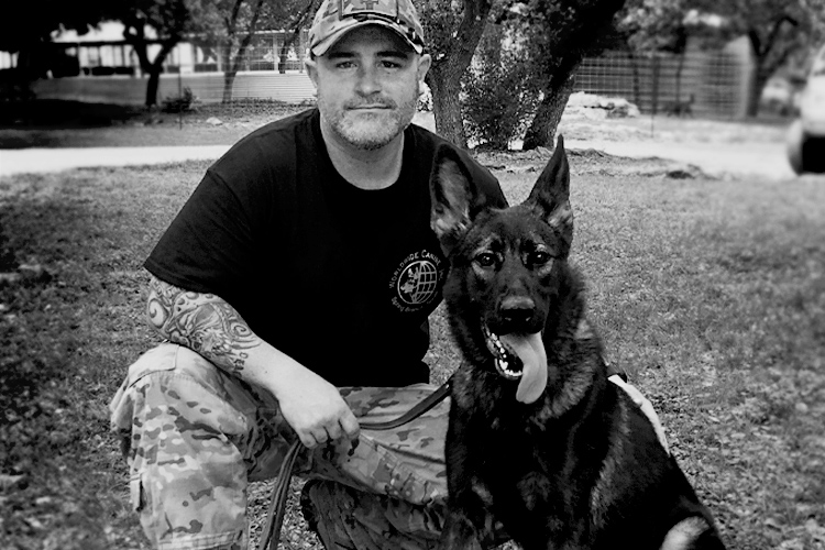 K9 Dog Trainer Ian Alkire from Worldwide Canine Inc.
