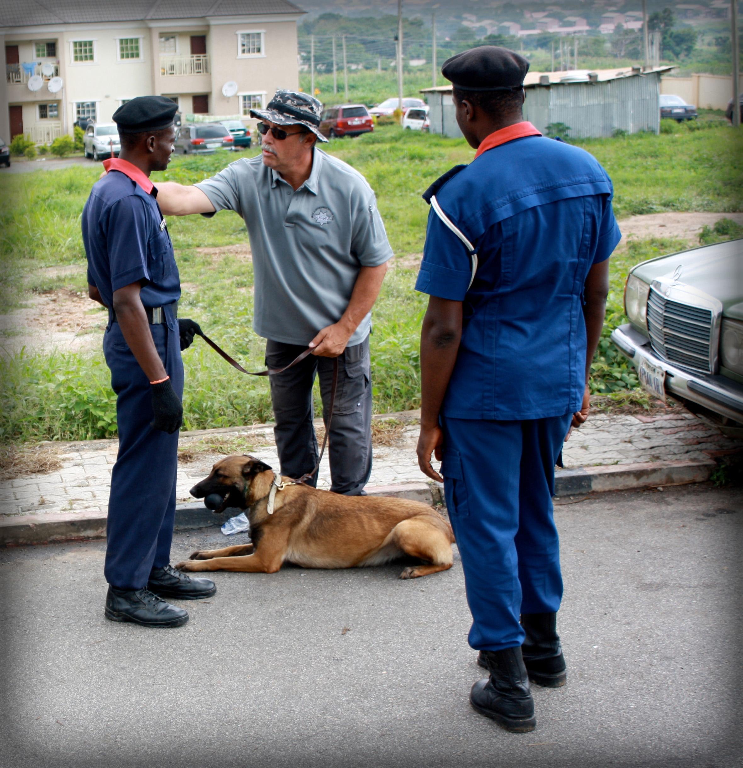 International K9 Dog Training in Nigeria